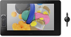 Wacom DTK2420K0 Cintiq Pro 24 Creative Pen Display – 4K Graphic Drawing Monitor with 8192 Pen Pressure and 99% Adobe RGB