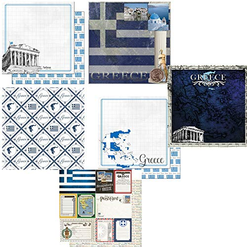Custom Bundle of Greece Themed Travel and Vacation 12