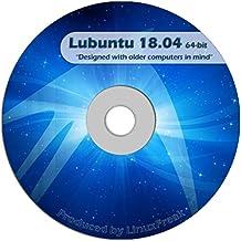 Lubuntu Linux 18.04 DVD - FAST Desktop Live DVD - Replace Windows XP - Official 64-bit Release