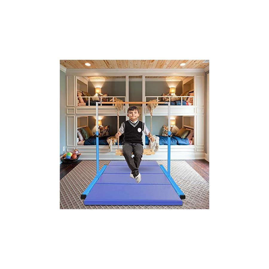 Gymmatsdirect Gymnastics Junior Training Bar Adjustable Horizontal Kip Bar Kids