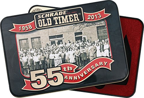 (Schrade Old Timer 55th Anniversary Tin)