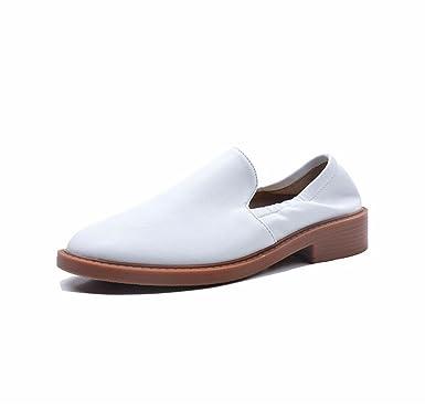 DANDANJIE Zapatos De Las Mujeres Mocasines Estudiantes Moda Zapatos Deportivos Otoño: Amazon.es: Ropa y accesorios