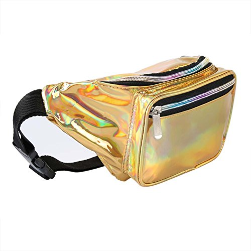 Fanny Pack for Women Men -Holographic Waist Pack for Gifts,