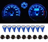 honda 1993 accord parts - ⭐️ LED Monster T10 194 LED Light bulb 168 LED Bulbs Bright Instrument Panel Gauge Cluster Dashboard LED Light Bulbs Set 10 T10 LED Bulbs with 10 Twist Lock Socket – Blue