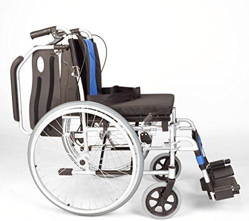 Leichte Falten deluxe selbstfahrenden Rollstuhl ECSP01-18