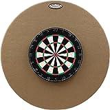 36'' Professional Dartboard Backboard, Round (Tan)