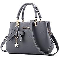 Fantastic Zone Women's Leather Handbags Fashion Handbags for Women Ladies Bags Handbags