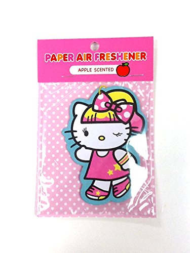 Hello Kitty PonyTail Paper Air Freshener : Apple (Scented Pony)