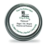 Chig-R-Blok Chigger Block Deet-Free Insect, Tick & Mosquitoes Repellent & Treatment Balm, 2 oz