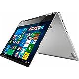 Lenovo Yoga 720 2-in-1 13.3 inch FHD 1080P IPS Touch-Screen Convertible Laptop (2017 Newest), Intel Core i5-7200U, 8GB RAM, 256GB SSD, No DVD, Webcam, WiFi, Fingerprint, Windows 10 - Platinum Silver