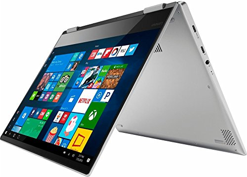 Lenovo Yoga 720 2-in-1 13.3 inch FHD 1080P IPS Touch-Screen Convertible Laptop (2017 Newest), Intel Core i5-7200U, 8GB RAM, 256GB SSD, No DVD, Webcam, WiFi, Fingerprint, Windows 10 – Platinum Silver