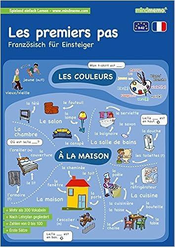 Mindmemo Lernfolder Les Premiers Pas Französisch Für Einsteiger
