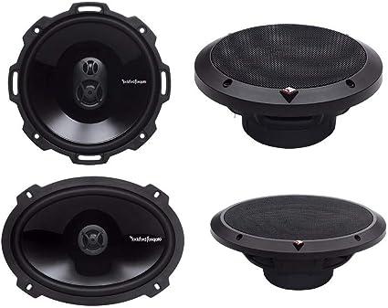 "New 4 Rockford Fosgate P1692 6x9/"" 300 Watts 2 Way Coaxial Car Audio Speakers"