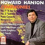 Howard Hanson: Symphonies Nos. 5 & 7 / Piano Concerto / Mosaics
