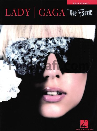 Hal Leonard Lady Gaga - The Fame for Easy Piano