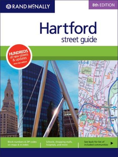 Rand Mcnally 8th Edition Hartford street guide
