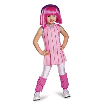 6 4 Lazytown Nickelodeon's Deluxe Toddler Large Stephanie Costume TKuF3Jcl1