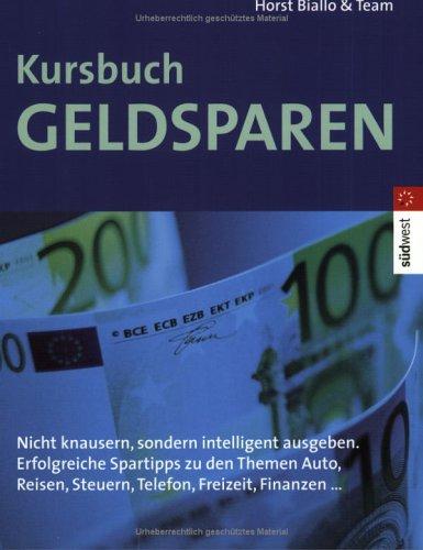 Kursbuch Geldsparen