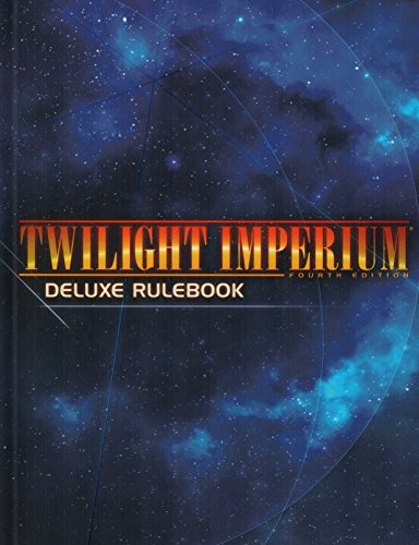 Twilight Imperium: 4th Edition Deluxe Rulebook HC
