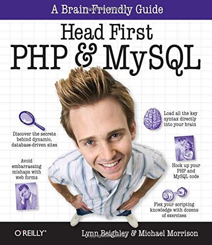 Head First PHP & MySQL: A Brain-Friendly Guide (Best Sql Tutorial Sites)