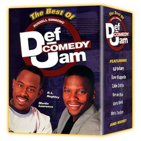 Best of Russell Simmons' Def Comedy Jam [6 Discs] (Best Stand Up Comedy Dvds Of All Time)