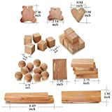 kilocircle 100 Items Cedar Valuable Pack with red