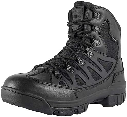 FREE SOLDIER Outdoor Men s Tactical Military Combat Ankle Boots Water Resistant Lightweight Mid Hiking Boots