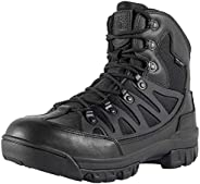 FREE SOLDIER Outdoor Men's Tactical Military Combat Ankle Boots Water Resistant Ligtweight Mid Hiking B