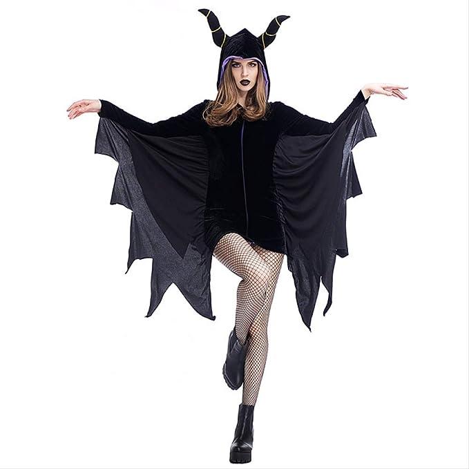 LBHHH Disfraz de murciélago de Halloween, Cuerno mágico para ...