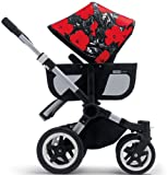 Bugaboo Donkey + Andy Warhol Sun Canopy Flowers (Discontinued by Manufacturer)