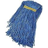 AmazonBasics Cut-End Cotton Mop Head, 6-Pack