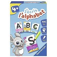 Ravensburger J'écris l'alphabet - Juegos educativos (Multicolor, Niño, Niño/niña, 4 año(s), 26 Pieza(s), 280 mm)