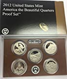 2012 S US Proof Set National Park Quarters Comes in the Packaging from the US Mint Proof