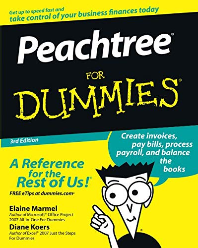 Peachtree for Dummies 3rd Edition (Best Cloud Backup Plans)