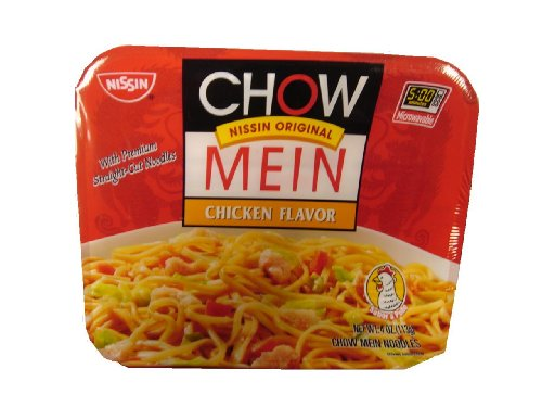 Nissin Chow Mein Q&E Chicken, 4-Ounce Units (Pack of 8) (Easy Chicken Lo Mein Recipe With Ramen Noodles)