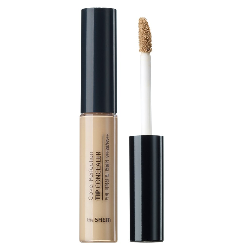 [the SAEM] Cover Perfection Tip Concealer SPF28/PA++ 6.5g #1.5 Natural Beige