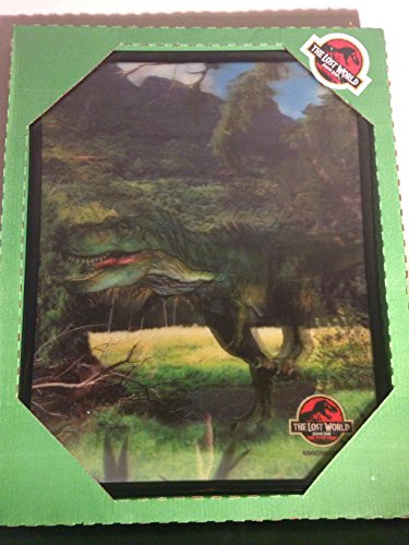 Jurassic Park Lost World Giant 3D T-Rex Holographic Poster