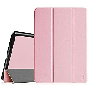 "Fintie iPad Air 2 9.7"" Case - [SlimShell] Ultra Lightweight Stand Smart Protective Cover with Auto Sleep/Wake Feature for iPad Air 2, Pink"