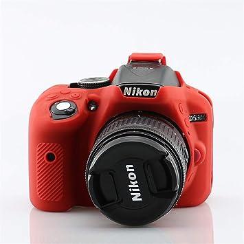 Amazon.com: HellowPower Nikon D5300 Funda para cámara de ...