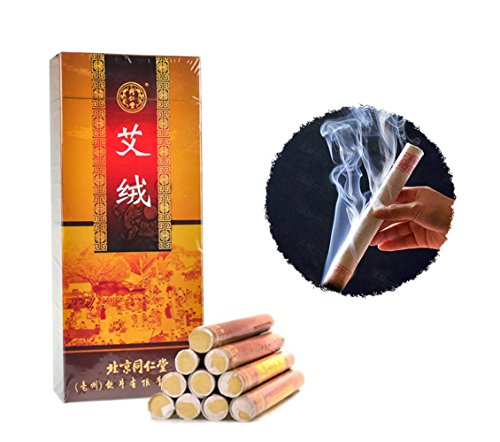 tongrentang-gold-pure-herb-moxa-stick-bar-for-mild-moxibustion-box-of-10-rolls-1-box