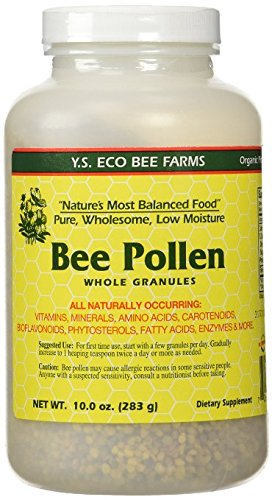 Y.S. Eco Bee Farms Bee Pollen Whole Granules, 10 oz (Pack...