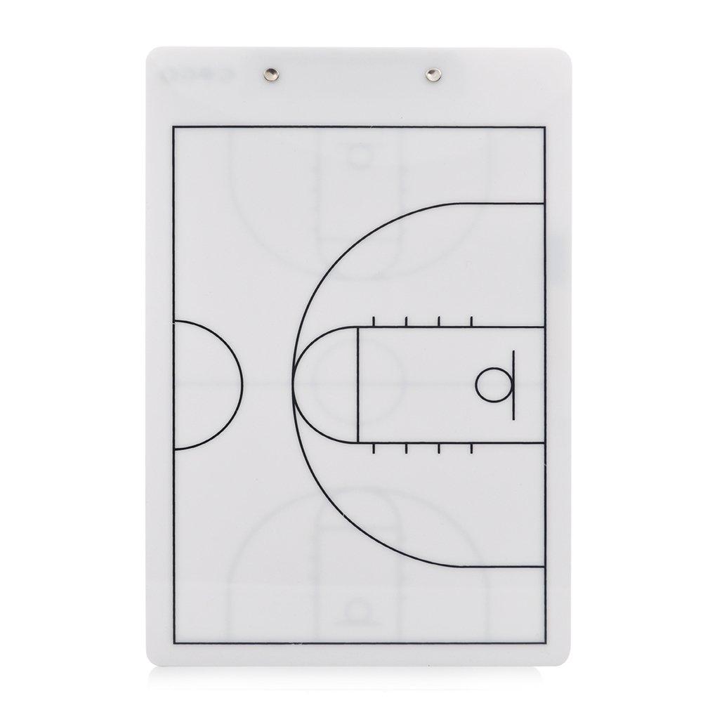 GOGO Tablero de Táctica de Baloncesto Borrado en Seco Reversible ...