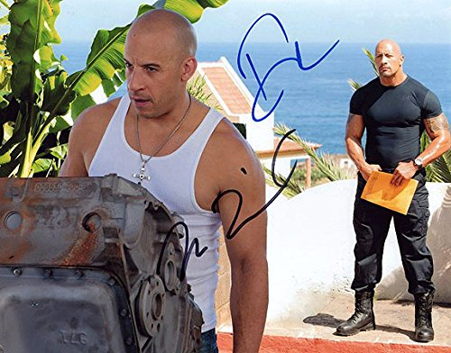 Image Unavailable. Image not available for. Color  FAST   FURIOUS 6 (Dwayne  Johnson   Vin Diesel) 8x10 Cast Photo ... 9a009995f7