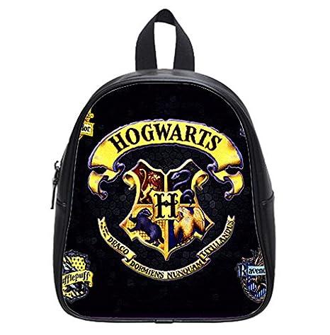 Personalizado Harry Potter Hogwarts insignia Custom New Kids mochila mochila escolar para niños (pequeño) estilo único: Amazon.es: Bebé