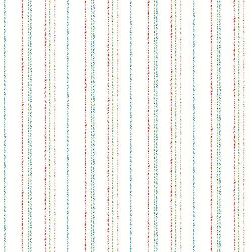 York Wallcoverings KI0547 Dotty Stripe Wallpaper, Primary