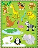 Carson Dellosa Zoo Shape Stickers (168022)