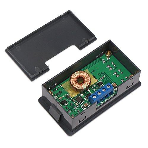 Constant Current Buck Converter, DROK Numerical Control Voltage Regulator DC-DC 4.5-23V 12v to 0-20V 9v 5v 2A Step Down Transformer Module Volt Stabilized Power Supply Board with LCD Display by DROK (Image #3)