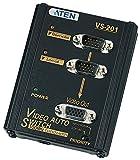 VS201 - Aten 2 to 1 Video Switch 2 x D-Sub (HD-15) Computer, 1 x D-Sub (HD-15) Monitor - 1024 x 768 @ 85 Hz - SVGA