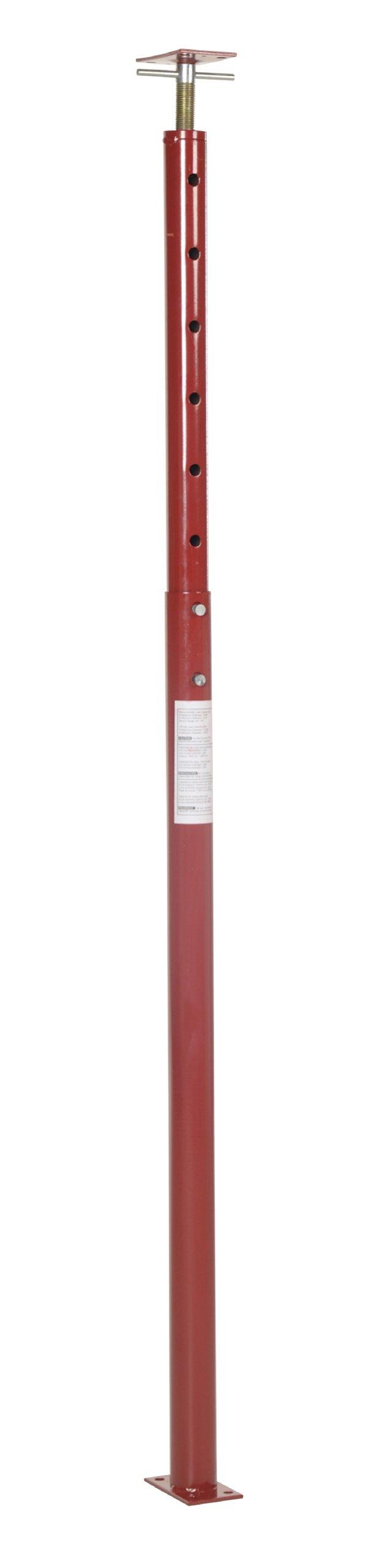 Vestil FJB-100 Basement Floor Jack, 54'' - 100'' Height Range, Maximum Height Capacity (lbs.) 5600, Minimum Height Capacity (lbs.) 8438 by Vestil