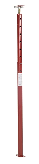 Vestil FJB 100 Basement Floor Jack, 54 Inch   100 Inch Height Range,